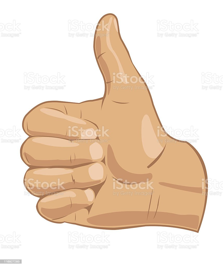 Thumbs up symbol royalty-free thumbs up symbol stock vector art & more images of abstract