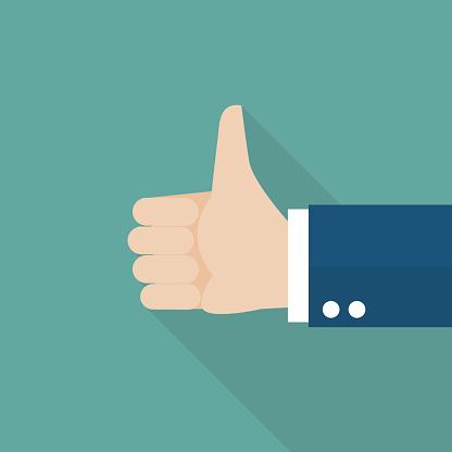 Thumbs Up - Immagini vettoriali stock e altre immagini di Accordo d'intesa