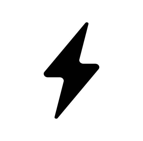 雷、電気、電源アイコン - 雷点のイラスト素材/クリップアート素材/マンガ素材/アイコン素材