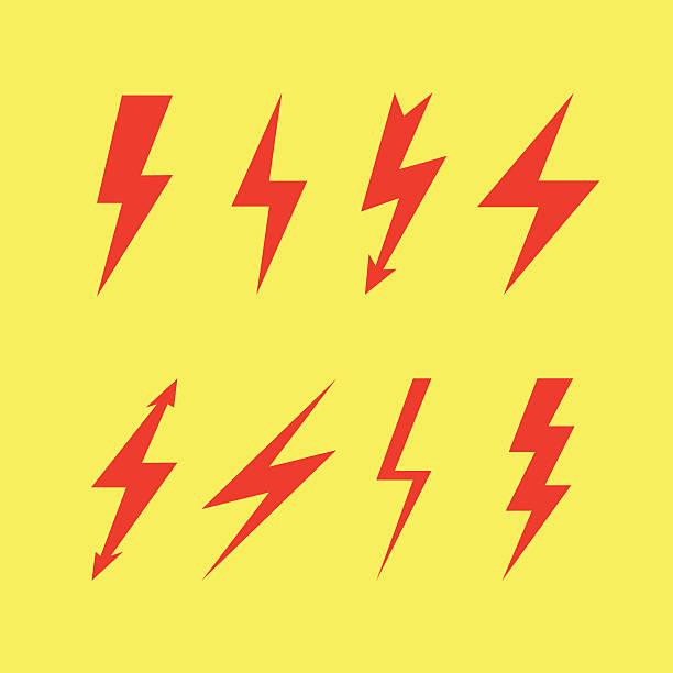 тандерболт организма, flash-icon - lightning stock illustrations