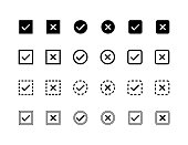 Tick Check Mark Icons