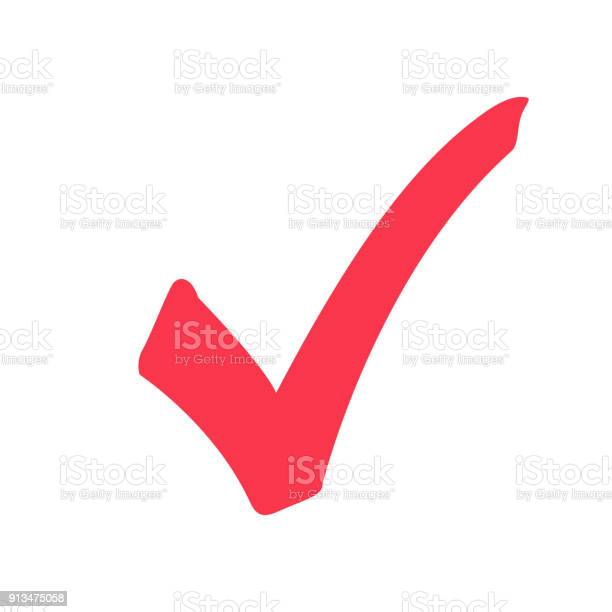 Tick icon vector symbol marker red checkmark isolated on white icon vector id913475058?b=1&k=6&m=913475058&s=612x612&h=6lh9cwjz q5pfa7hqfybppohkw f8az5f9ojr9jz5j8=