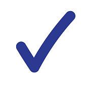 istock Tick Icon Vector Symbol 1088802530