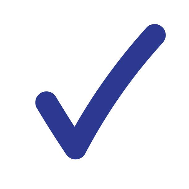 Tick Icon Vector Symbol Tick icon vector symbol financial bill stock illustrations