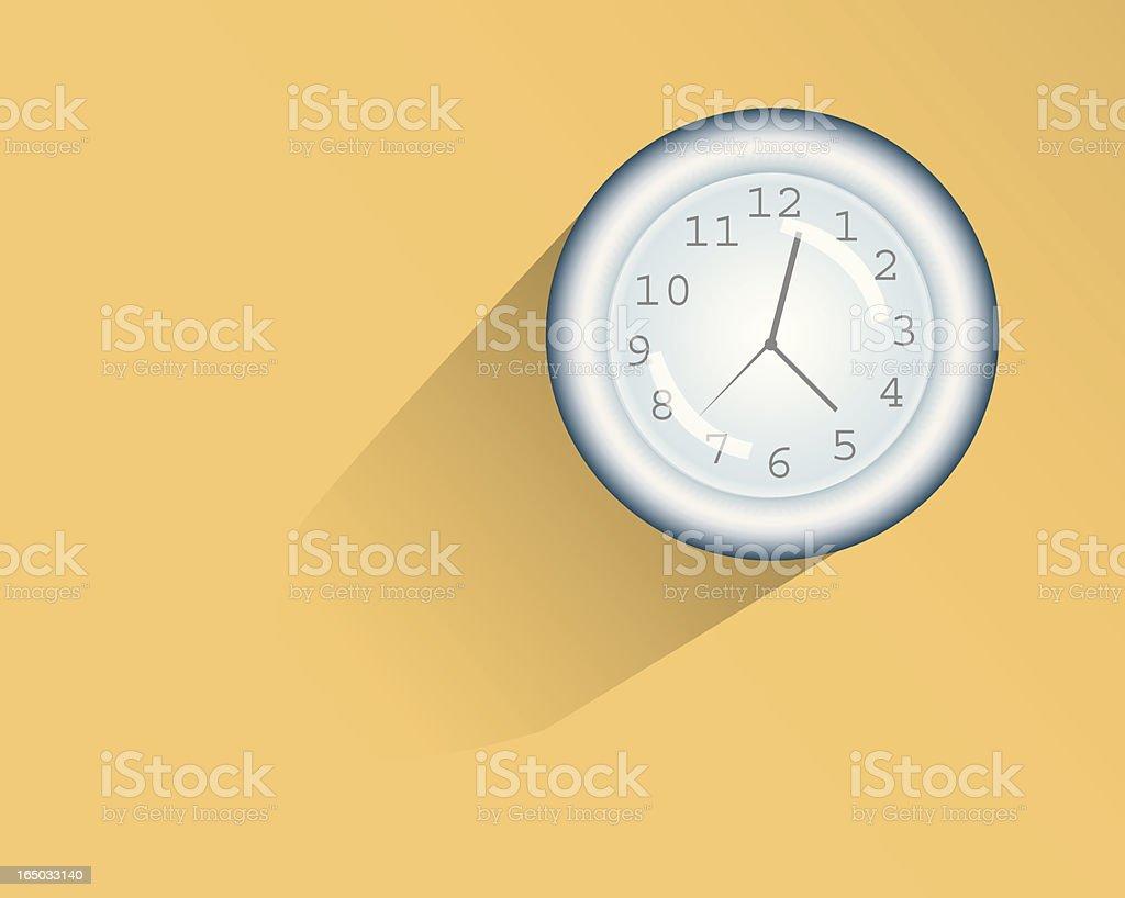 Tick Tock vector art illustration