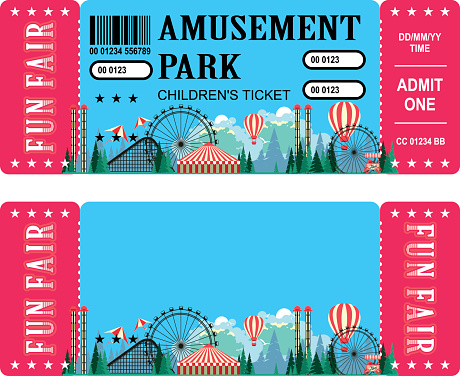 amusement park ticket