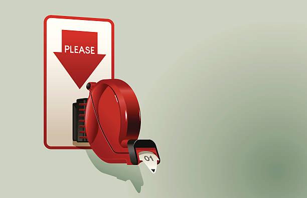 ilustrações, clipart, desenhos animados e ícones de dispensador de ingresso - esperar
