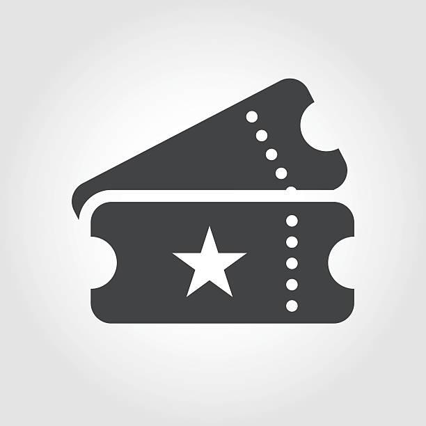 항공권 아이콘크기-성상화 시리즈 - 티켓 스텁 stock illustrations