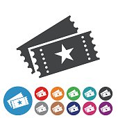 Ticket Icons - Graphic Icon Series