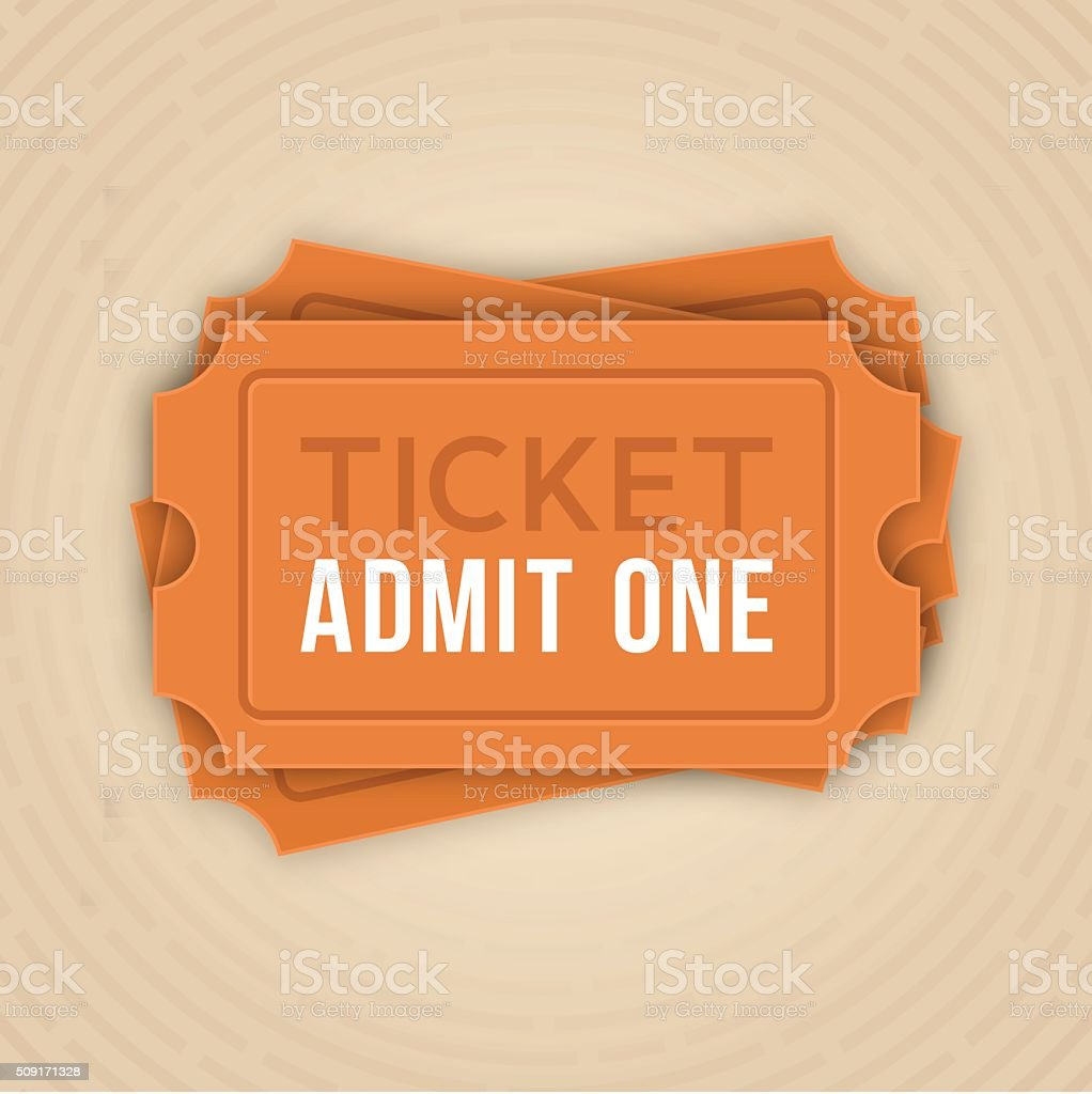 Ticket Stack Admit One