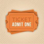 Ticket Stack Admit One