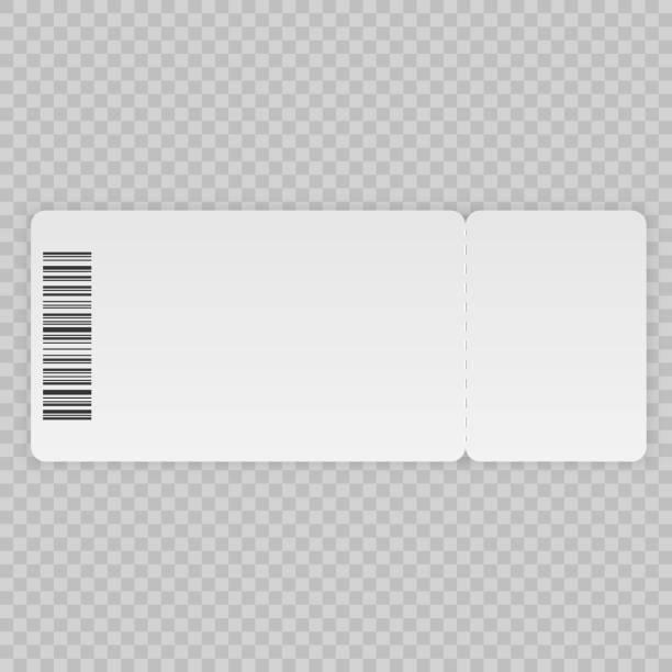 표 서식 파일 - 티켓 스텁 stock illustrations