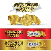Tickets scratch and win