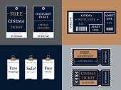 Tickets Templates - Illustration