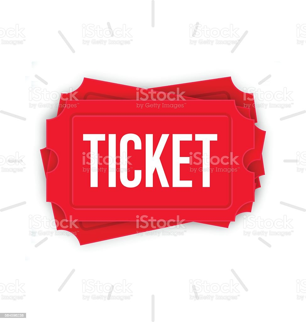 royalty free raffle ticket clip art vector images illustrations rh istockphoto com clipart ticket stub clip art tickets admit one