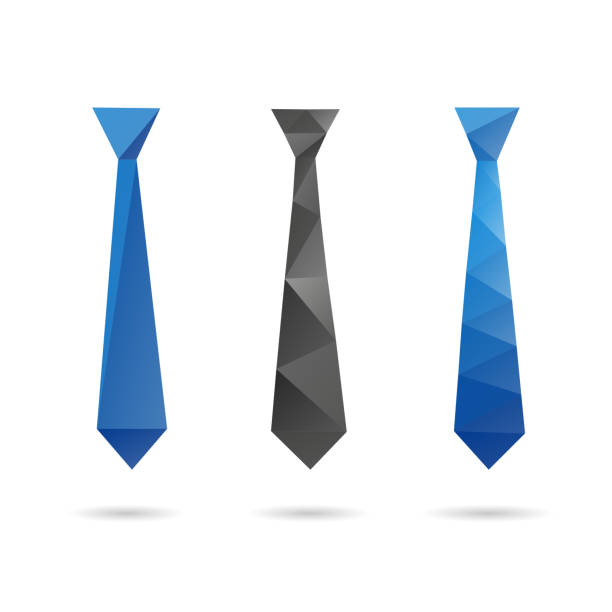 Royalty Free Origami Tie Clip Art Vector Images Illustrations