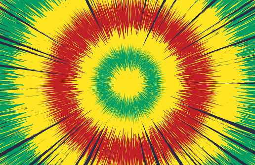 Tie Dye Abstract Background Explosion Design