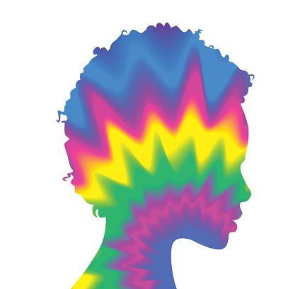Tie Dye Woman profile