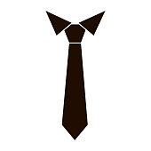 istock Tie icon vector 867883650