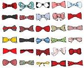 Tie-bows set