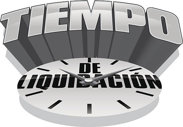 Tiempo Heading Tiempo Heading tiempo stock illustrations