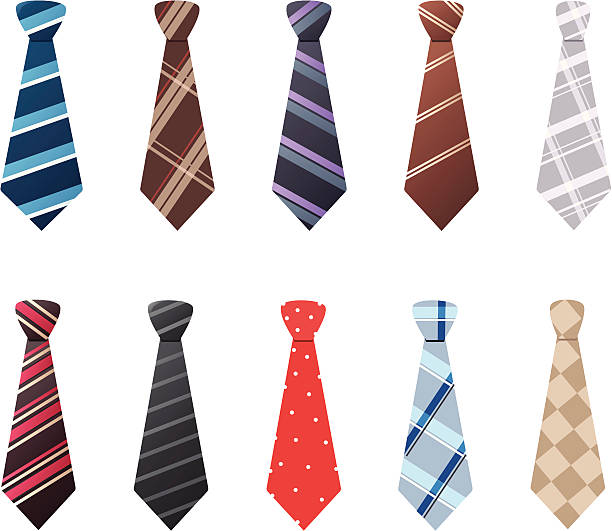 ties - tie stock illustrations, clip art, cartoons, & icons