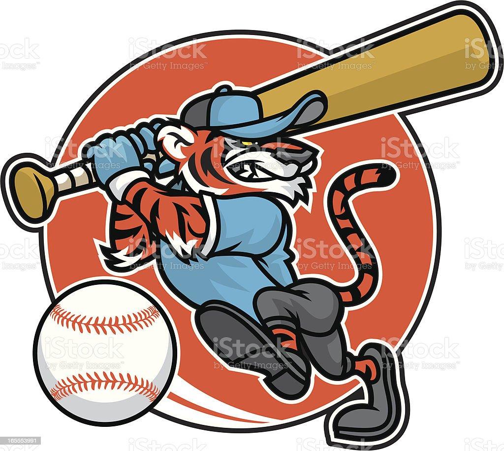 Tiger baseball design royalty-free tiger baseball design stock vector art & more images of aggression