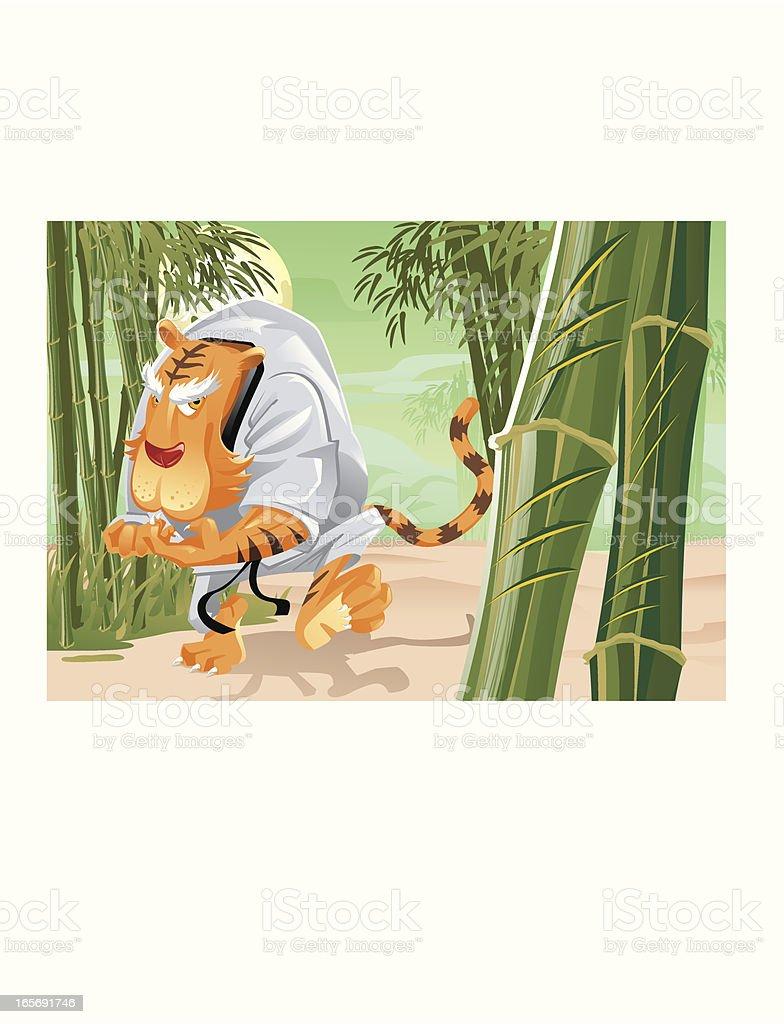 Garras de tigre! - ilustração de arte em vetor