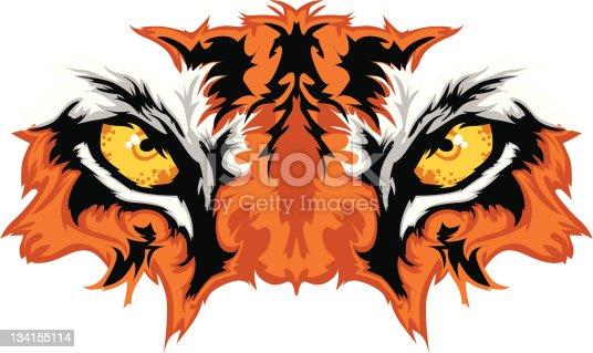 istock Tiger Eyes Mascot Graphic 134155114
