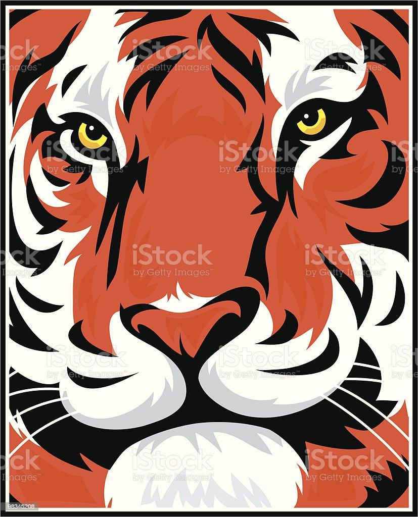 Tiger 변모시키십시오 royalty-free tiger 변모시키십시오 0명에 대한 스톡 벡터 아트 및 기타 이미지