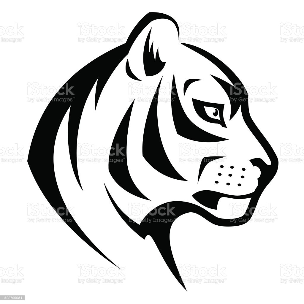 Tiger head symbol stock vector art more images of animal tiger head symbol royalty free tiger head symbol stock vector art amp more images biocorpaavc