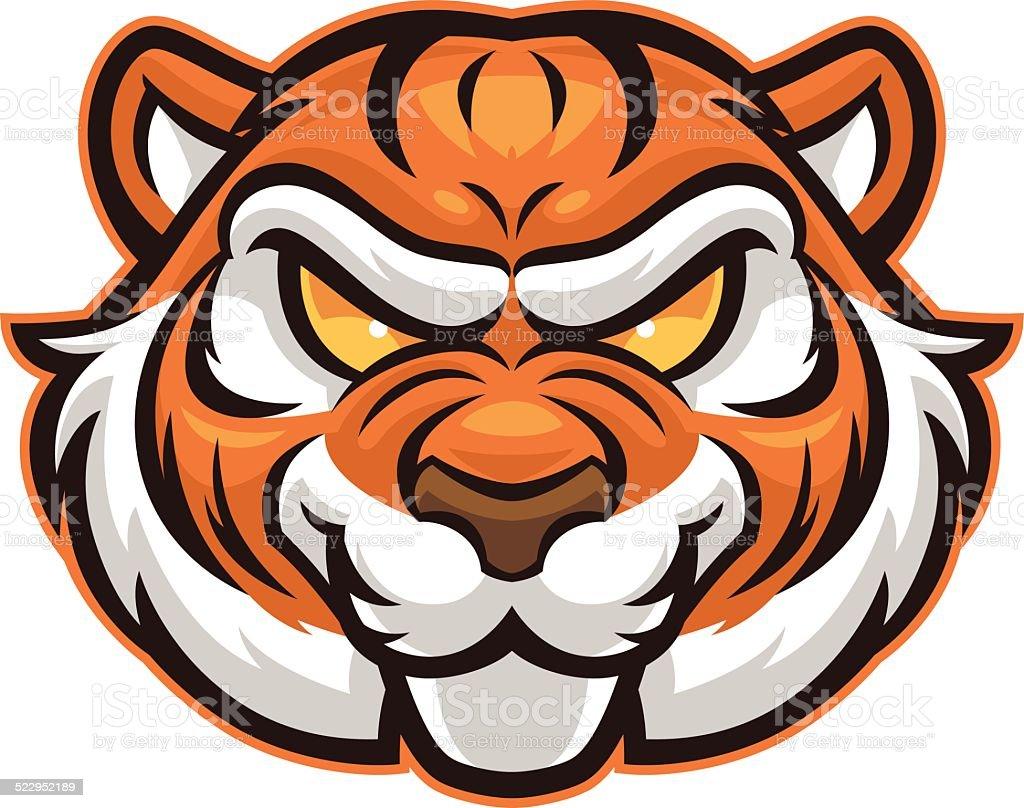 royalty free tiger mascot clip art vector images illustrations rh istockphoto com  clemson tiger mascot clipart