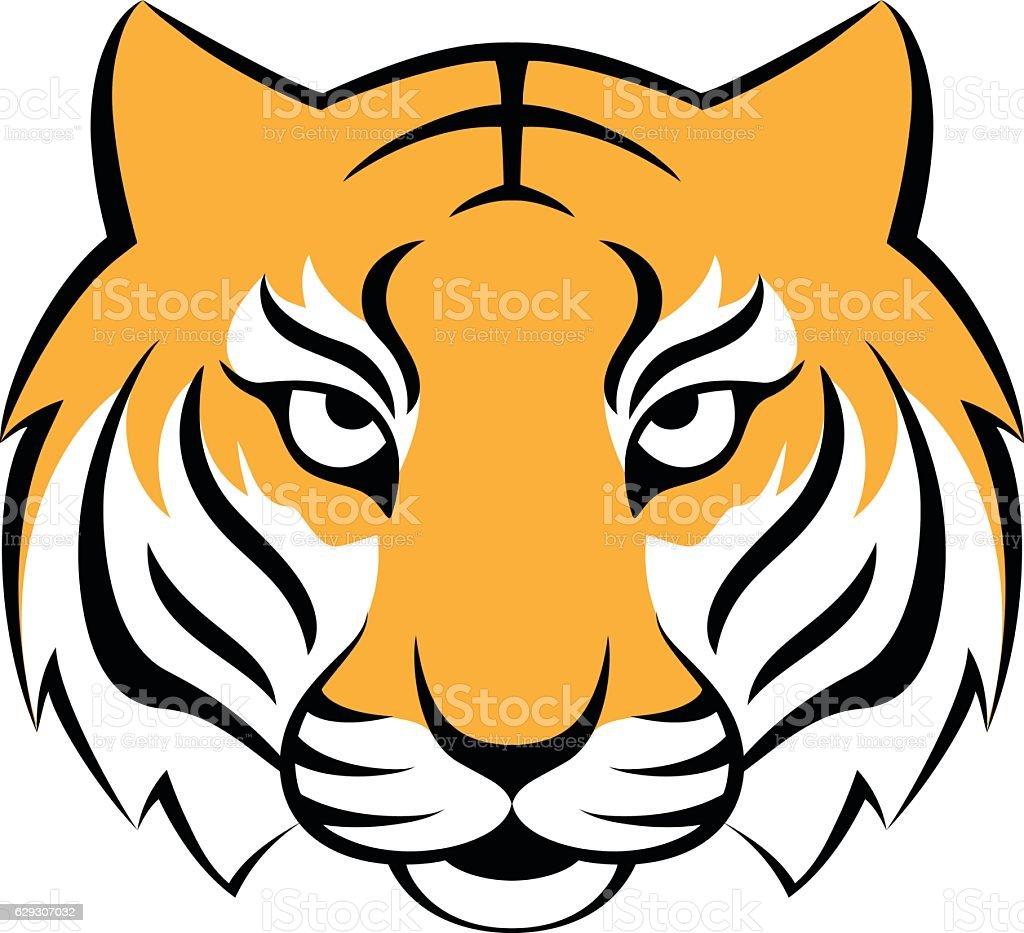 royalty free bengal tiger clip art vector images illustrations rh istockphoto com clip art tiger paw print clip art tiger roflmao