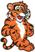 istock Tiger Leaning 165605525