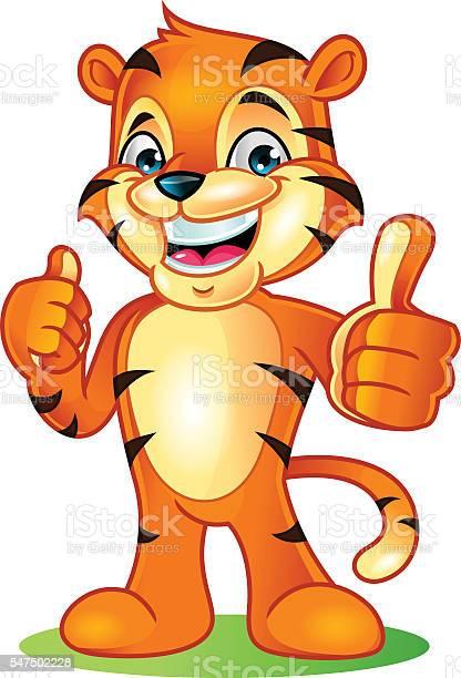 Tiger mascot cartoon vector illustration vector id547502228?b=1&k=6&m=547502228&s=612x612&h=bjyvrpynk4liti6erdlsu9vt eqnj 4ta8631m4glts=