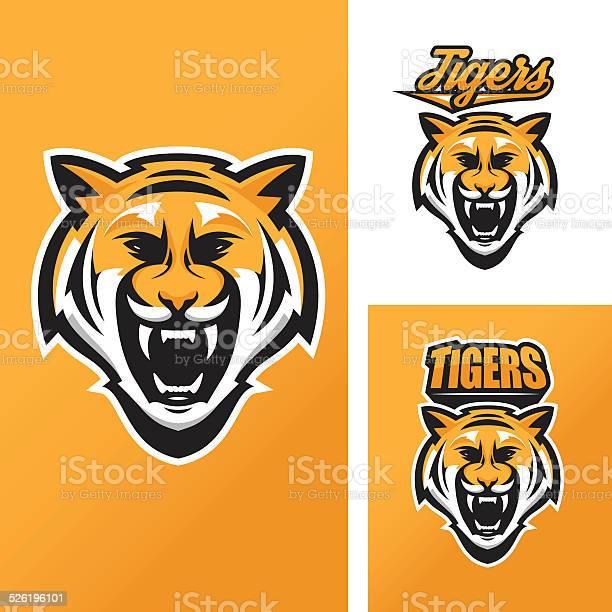 Tiger mascot for sport teams vector id526196101?b=1&k=6&m=526196101&s=612x612&h=hew29mi tx0hebdlajwcc ejlfucsd93esqfe 2sn a=