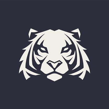 Tigre Mascotte Vector Icon Vecteurs libres de droits et plus d'images vectorielles de Animaux à l'état sauvage