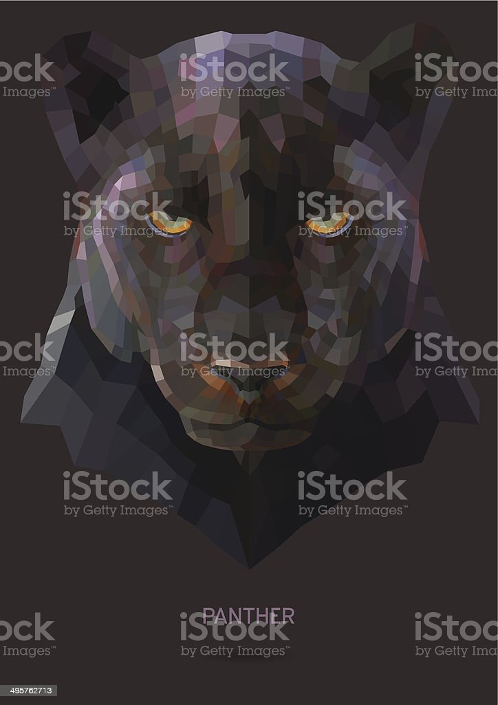 Tiger Panther vector vector art illustration