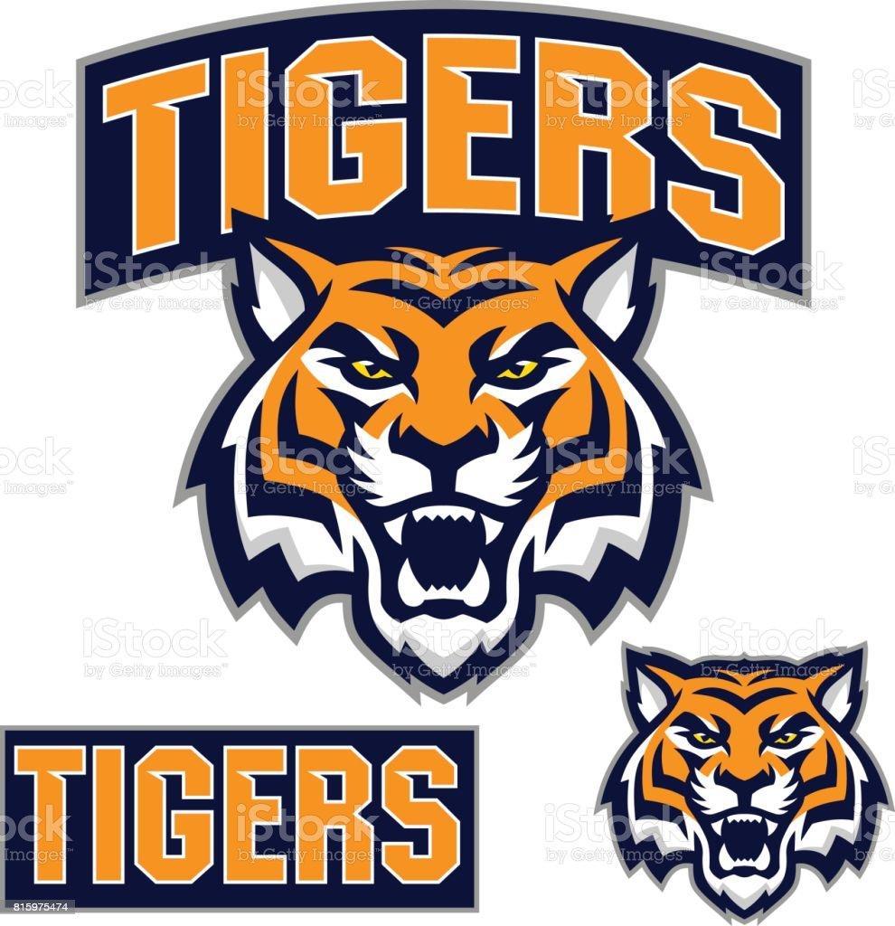 Tiger Sport Kit vector art illustration