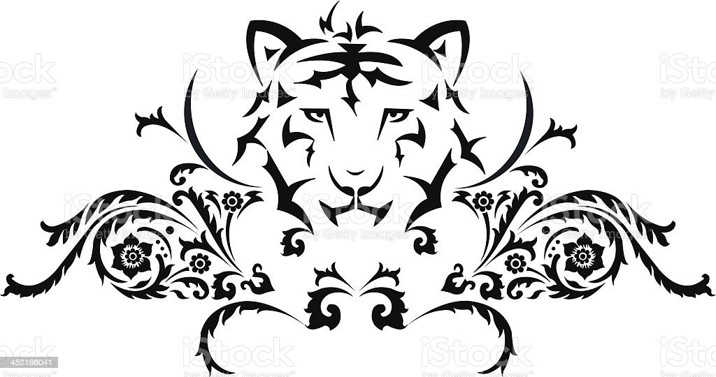 Tatouage Tigre Cliparts Vectoriels Et Plus D Images De Agression