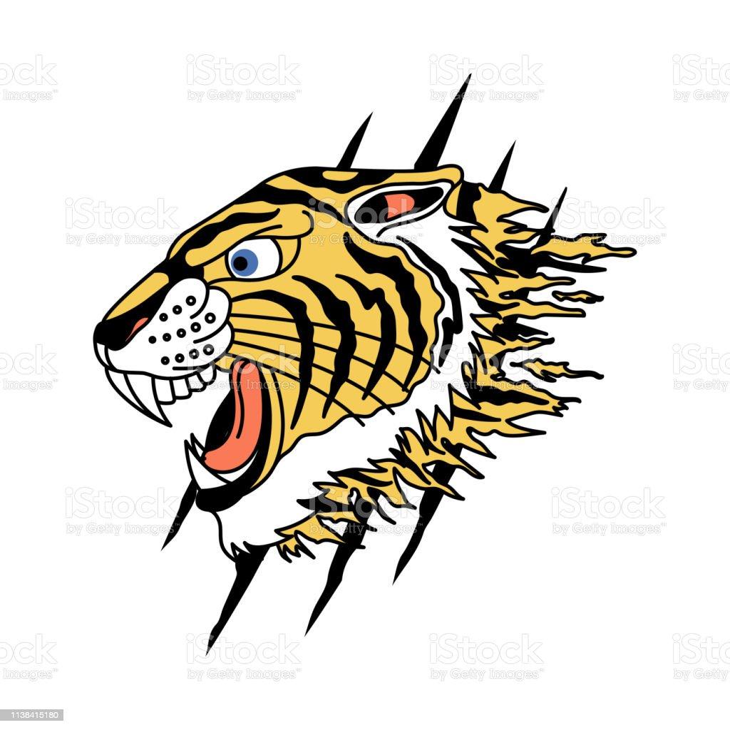 tiger vector design