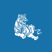 Tiger(Chinese traditional paper-cut art)