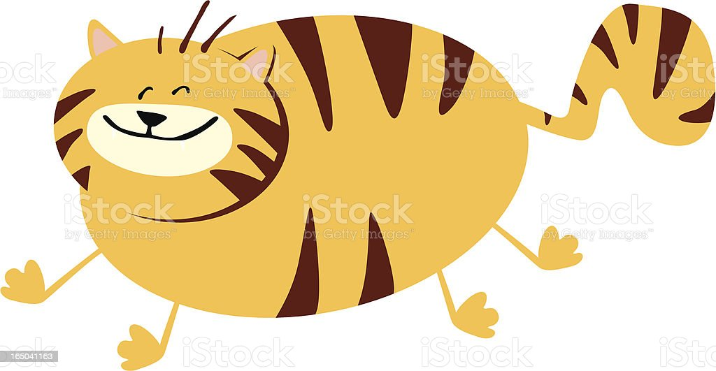 tiger royalty-free stock vector art