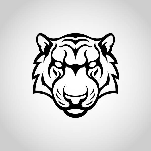 Tiger vector logo icon illustration vector art illustration