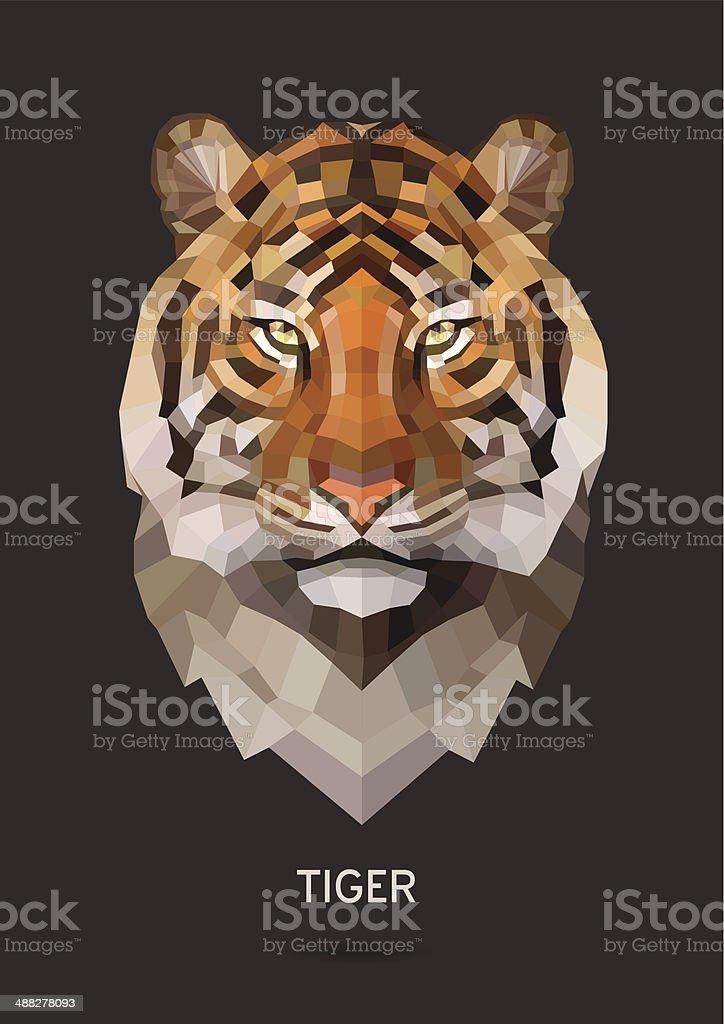 Tiger vector vector art illustration