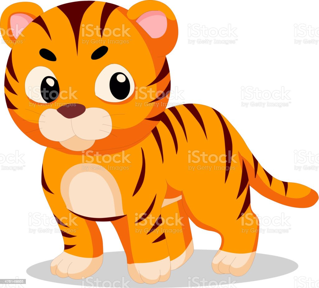 Tigers royalty-free stock vector art