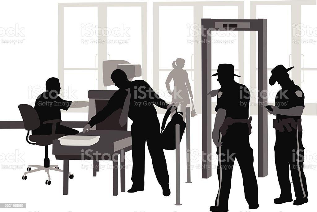 TightSecurity vector art illustration