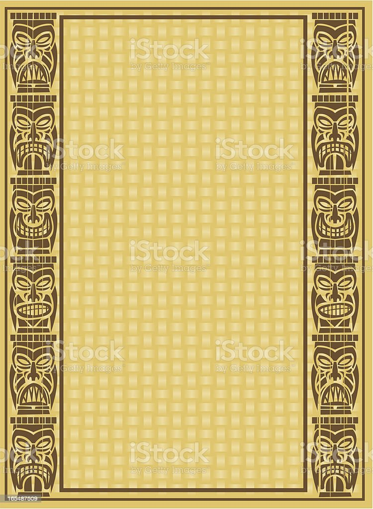 tiki background royalty-free tiki background stock vector art & more images of backgrounds