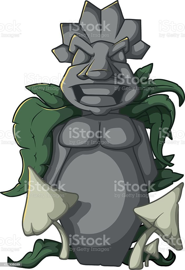 Tiki Statue royalty-free tiki statue stock vector art & more images of adventure
