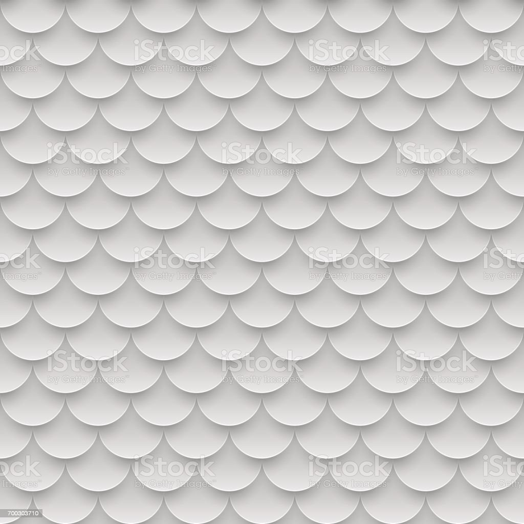Azulejo, pez escamas de patrones sin fisuras. Resumen de antecedentes. Ilustración de vector - ilustración de arte vectorial